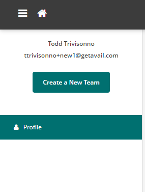 Create a New Team